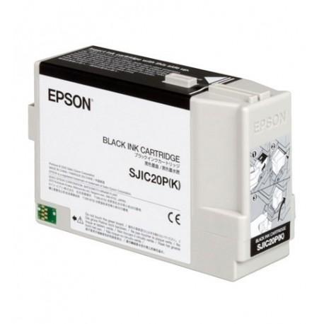 Epson SJIC cartuccia nera TM-C3400BK