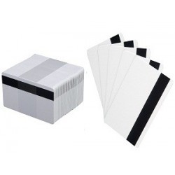 Zebra PVC Premier Card bianca 30mil. LoCo