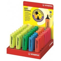STABILO BOSS Original - Espositore colori assoriti  40pz