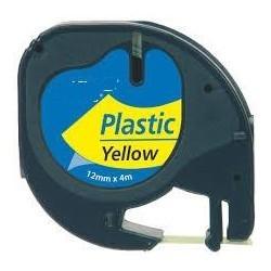 BK-Yellow 12mmX4m Plastica  Dymo 2000,LT100H,QX50S0721670