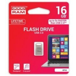 Pendrive metal GOODRAM POINT UPO3 16GB USB 3.0 - blister