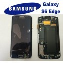 LCD + TOUCH ORIGINALE PER GALAXY S6 EDGE BLU GH97-17162A