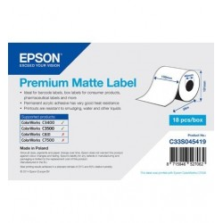 Epson roll labels normal...