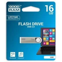 Pendrive GoodRAM 16GB UNN2 metal USB 2.0 - retail blister