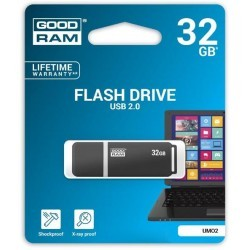 Pendrive GoodRAM grafite UMO2 32GB USB 2.0 - blister