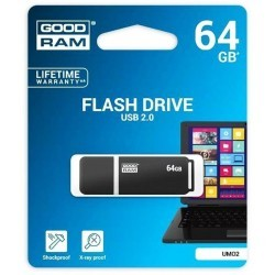 Pendrive GoodRAM grafite UMO2 64GB USB 2.0 - blister