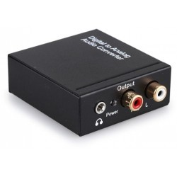 Digital to Analog Audio (RCA + EarPhone) e  controllo volum