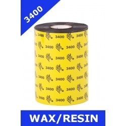Zebra ribbon wax-resin...
