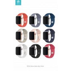 Cinturino Apple Watch 4 serie 40mm Delux Sport Black