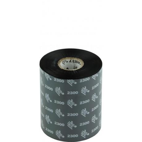 Zebra ribbon cera 02300 89x450 box 12 cod. 02300BK08945