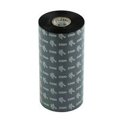 Zebra ribbon cera 02300 170x450 box 12 cod. 02300BK17045