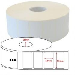Zebra roll adhesive labels...