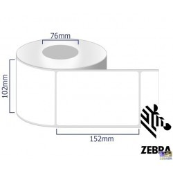 Zebra Z-Select 2000T Carta normale 102x152mm box 4