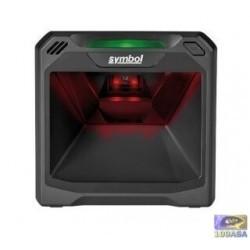 Zebra DS7708, 2D, Area Imager, Multi-IF, EAS, verticale, Kit (USB), nero
