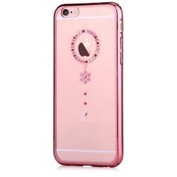 Cover Swarovski iPhone 6/6S Plus Crystal Camelia Red RG
