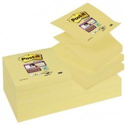Foglietti Post-it® Z-Notes Giallo Canary™ 76mm x 76mm 12 pz.