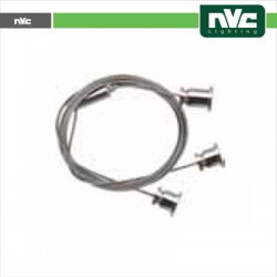 Kit sospensione 1,5 mt x Plafoniera NV492-36W4K NV492-36W3K