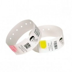 Zebra Z-Band Splash, yellow