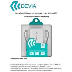 Set Carica e Cavo Lightning Rapidi con sistema PD 18W